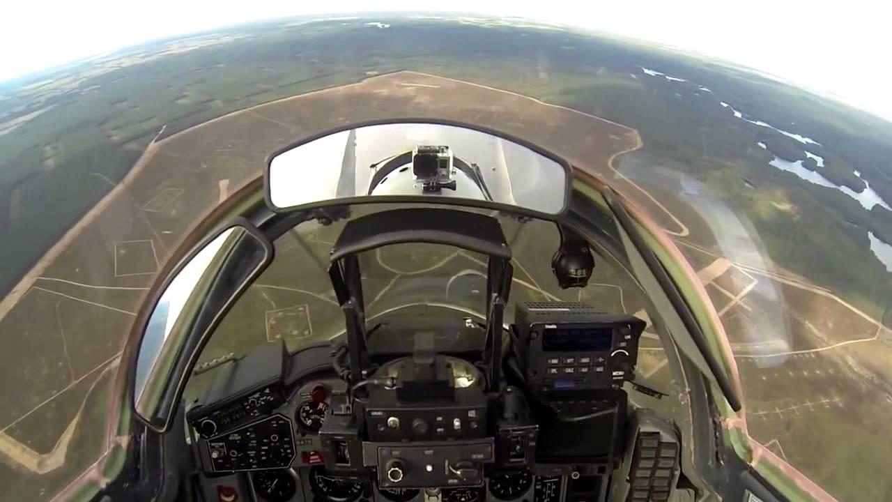 HD Cockpit View Flight MiG-29, Poland Air Force