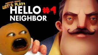 Annoying Orange Plays - Hello Neighbor #4: THE BASEMENT!!!