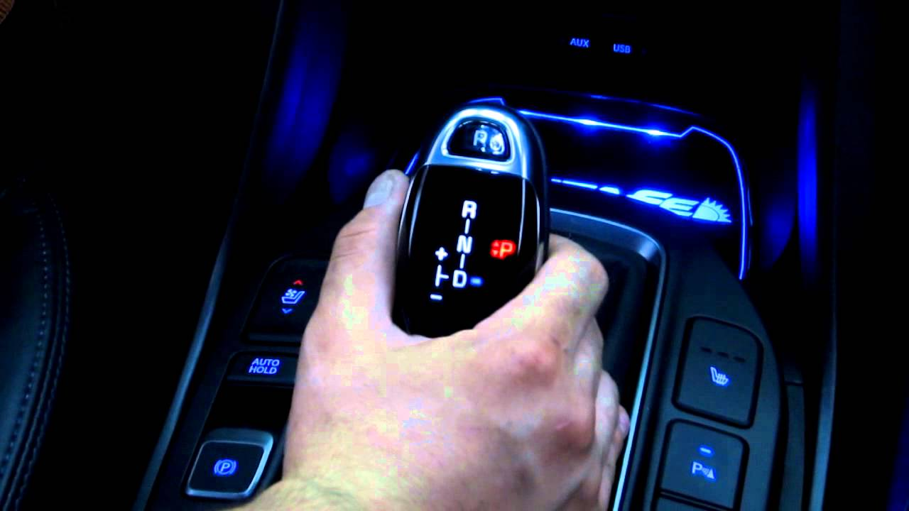 Doctc Com K9 Shift Knob Installed On Santafe 2014 Custom