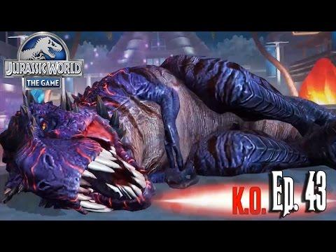 COMO VENCER AL OMEGA 09 T-REX... ¿OH NO? // Jurassic World: El Juego #43 - En Español HD