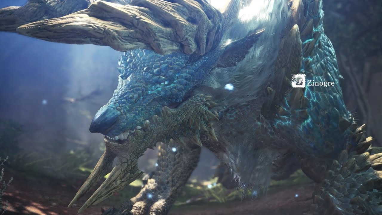 Monster Hunter World: Iceborne - Zinogre (Solo / Longsword) thumbnail