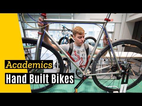 University of Iowa: Art + Engineering = Hand Built Bikes