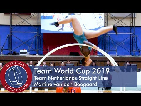 Team World Cup in Gymwheel 2019 Team Netherlands Martine van den Boogaard Straight Line