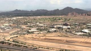 Landing at Sky Harbor in Phoenix
