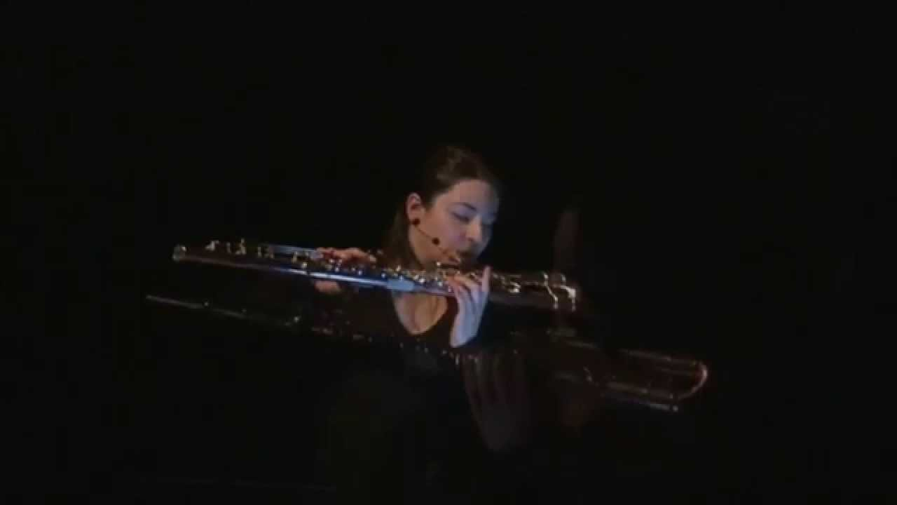 UNLEASHED Trailer: New Music for Open Hole Bass Flute and Electronics