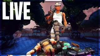 Rare Skin Going For High Kills! - Season 8 Battle Pass GIVEAWAY - Fortnite Live