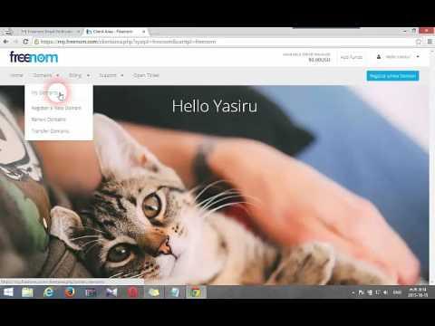 How To Setup Free Domain To Blogger(Sinhala Tutorial)