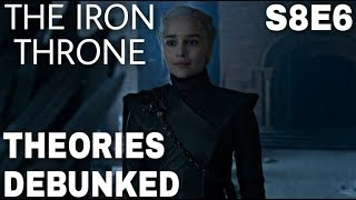 New Details About The Game of Thrones Season 8 Finale (The Iron Throne)
