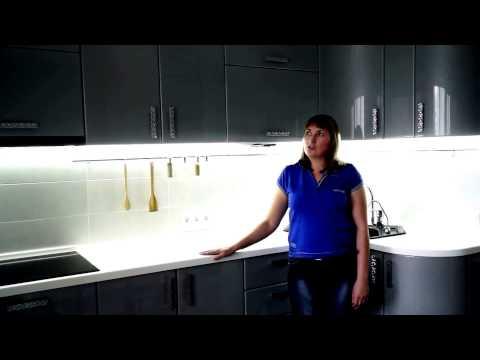 Кухонный гарнитур в стиле модерн Омск.(Кухни Аритэ)