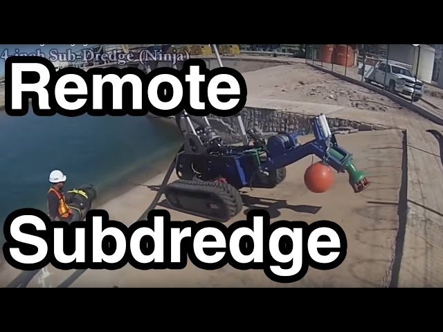 Subdredge dredging at a Power Plant - EDDY Pump