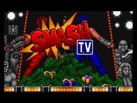 Smash TV Review for the Commodore Amiga by John Gage