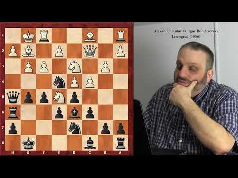 """Igor Bondarevsky–""""Great Players of the Past"""" series, with GM Finegold"""
