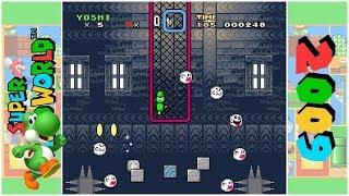 Baby Yoshi in Super Yoshi World (D) | Super Mario World Hack