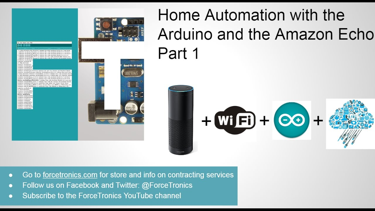 Download Home Automation with the Arduino and the Amazon Echo Part 1