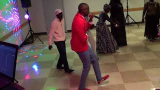 South Sudanese Music by Moses Monjesh live in Calgary Oct 14, 2017