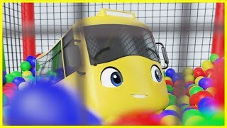 Play Hide And Seek | Soft Play! | Go Buster | Baby Cartoons | Kids Videos | ABCs and 123s