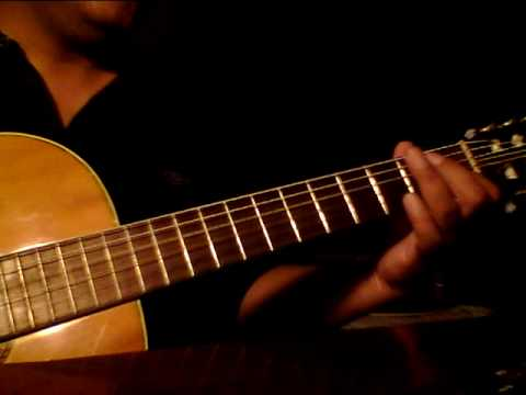Beatles - Here There And Everywhere solo guitar.MOV