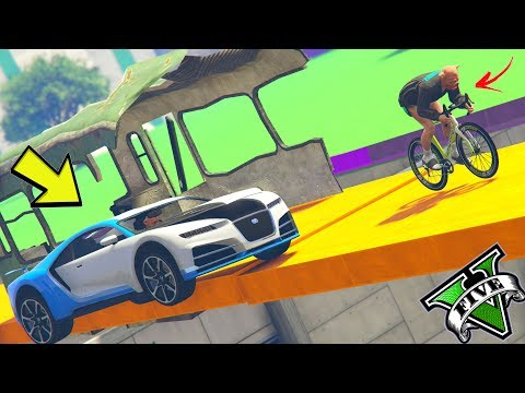 GTA 5 ONLINE 🐷 PARKOUR BIKE VS TRUFFADE NERO !!! 🐷 LTS 🐷N*148🐷 GTA 5 ITA 🐷 DAJE !!!!!!!