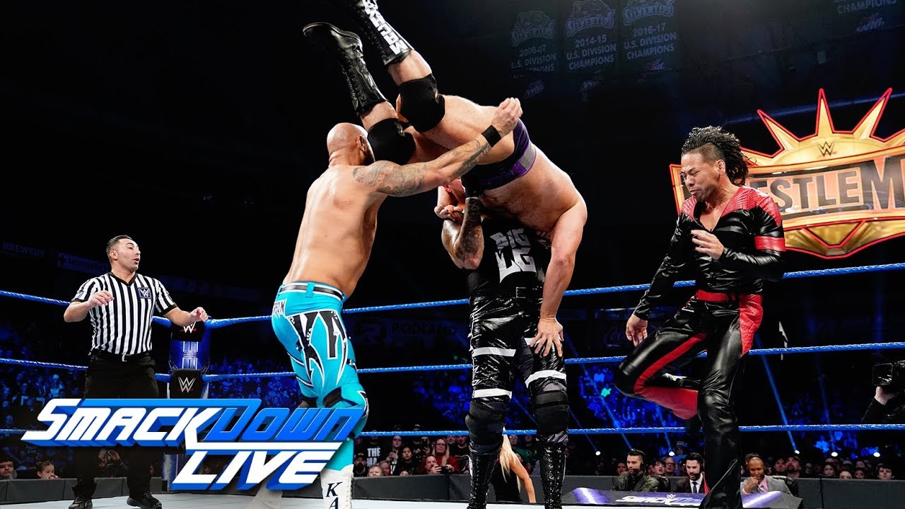 Gallows & Anderson vs. Rusev & Shinsuke Nakamura: SmackDown LIVE, Feb. 5, 2019