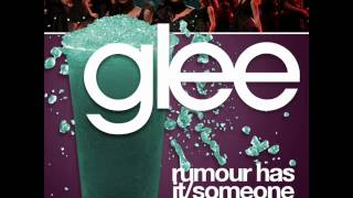 Glee Karaokes - Rumour Has It / Someone Like You (Karaoke-Instrumental)