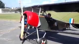 Video VW powered 3/4 Prototype WWI Biplane Nieuport Pt. 2 download MP3, 3GP, MP4, WEBM, AVI, FLV Juli 2018