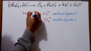 Balanceo por el Método REDOX   Química