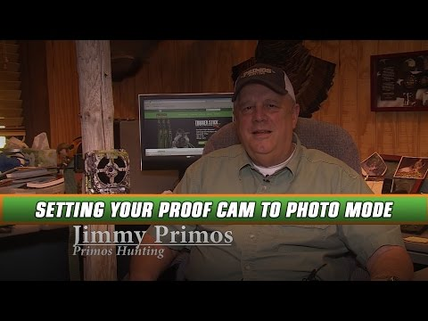 How To Set Your New Primos Proof Cam To Photo Mode