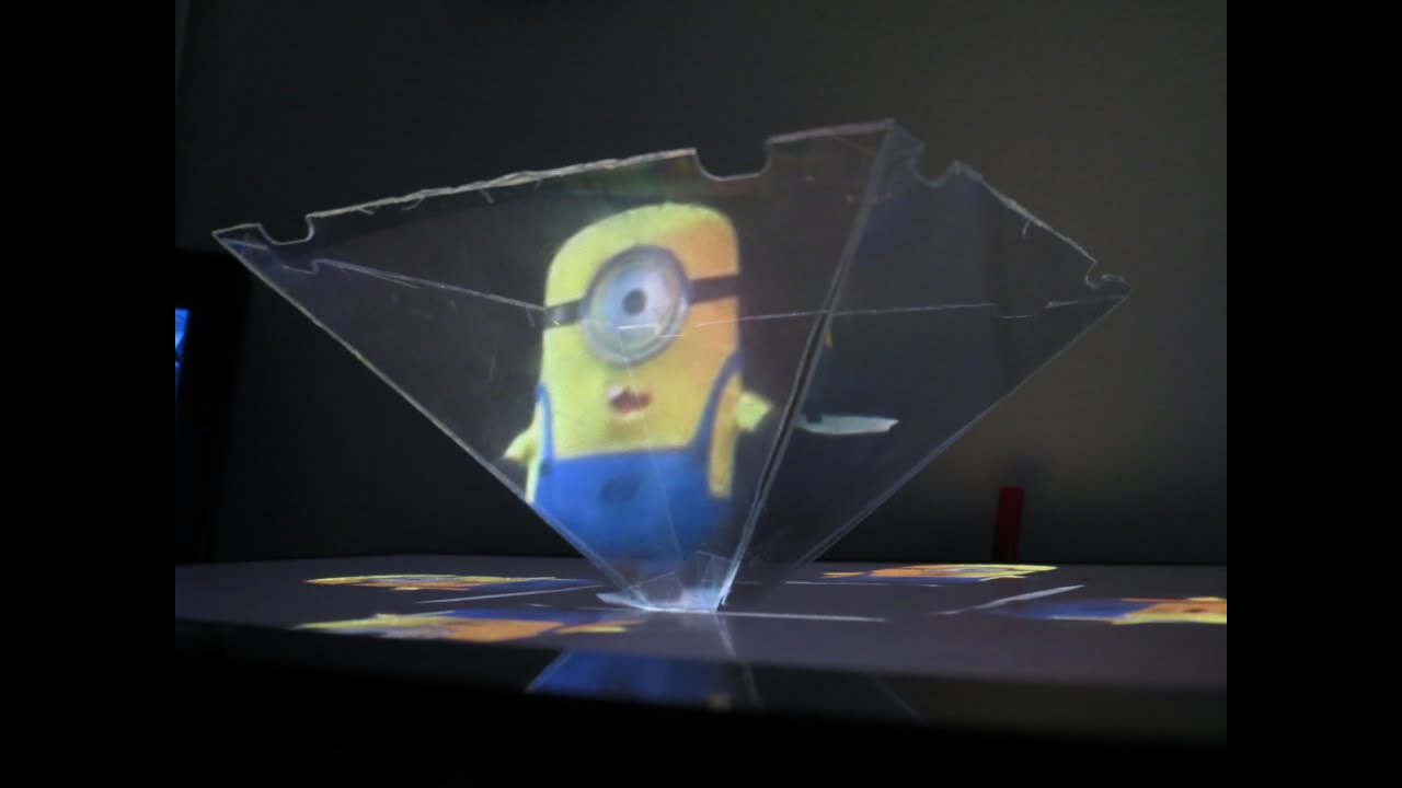 How to use your Smartphone or Tablet to make a 3D hologram ...