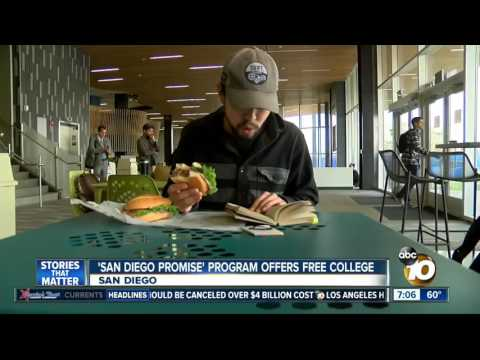 KGTV-SD: San Diego Promise Offers Free Community College
