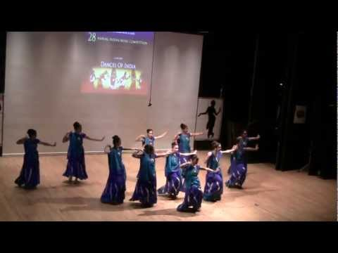 Indian group dance