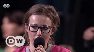Vom TV-Star zur Präsidentschaftskandidatin in Russland | DW Deutsch