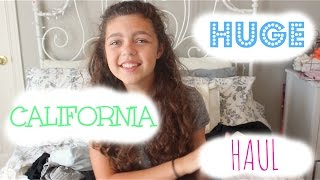 Huge California Haul! (Try-On) ♡ Thumbnail