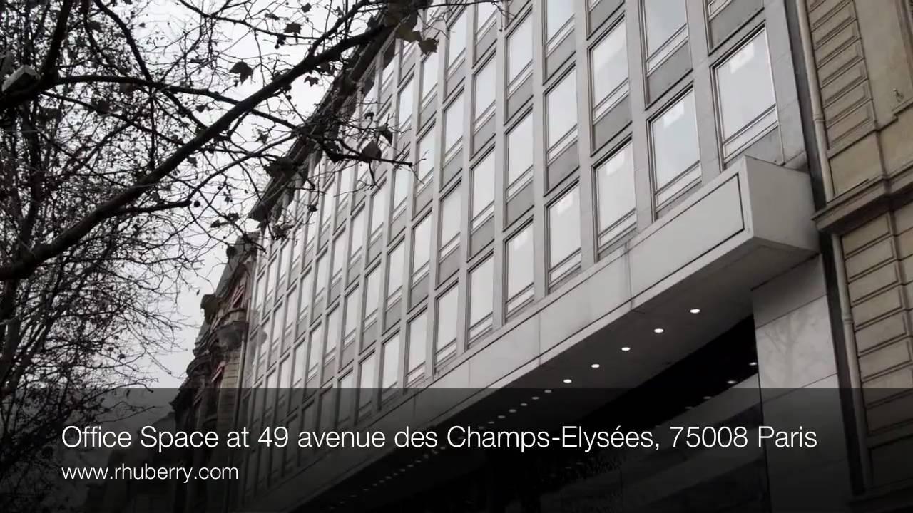 office space at 49 avenue des champs elys es 75008 paris. Black Bedroom Furniture Sets. Home Design Ideas