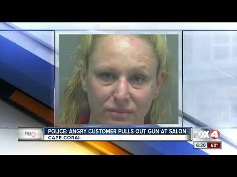 Lynch and Taco - Irritated Customer Pulls Gun In Salon
