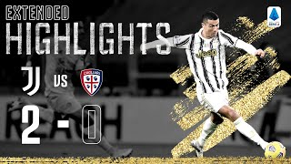 Juventus 2-0 Cagliari | Ronaldo At The Double Again! | EXTENDED Highlights