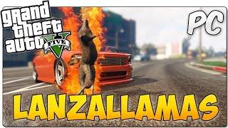FIREBREATHER MOD GTA 5 PC | LANZALLAMAS BUCAL | GTA V MOD SHOWCASE ESPAÑOL