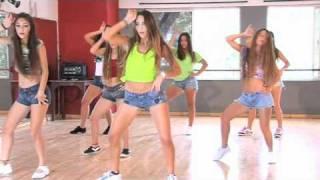 Coreografía de Danza Kuduro (de Frente) /TKM Argentina