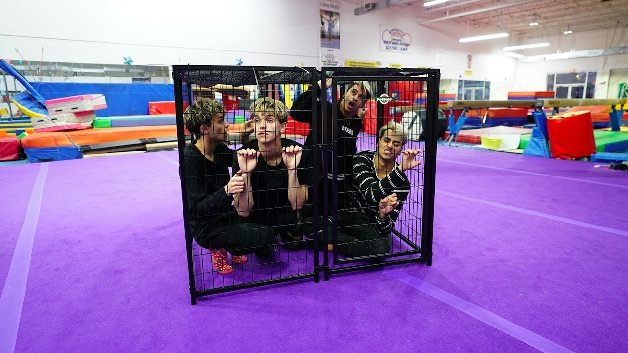 Brothers Try To Escape Giant Cage In Less Than 10 Minutes Download