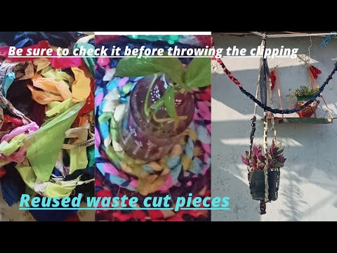 how to make hangers with waste clothes 🤔😯😯😱 you should know