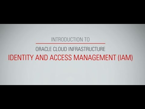 _Introduction to OCI Identity and Access Management