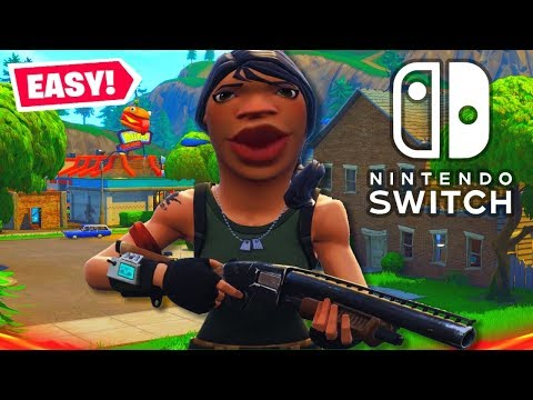 Playing Fortnite On Nintendo Switch Servers! (So Easy!)