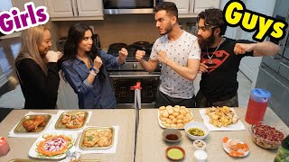 COOKING IFTAR CHALLENGE **GIRLS vs GUYS**