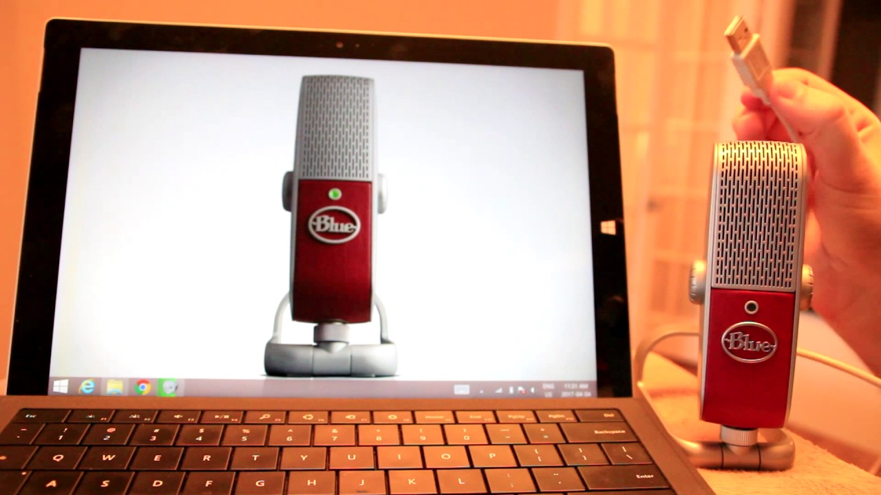 Blue Raspberry Microphone Blogger Review