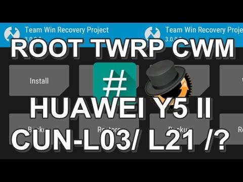 ROOT] [TWRP] [CWM] Huawei Y5 II CUN-L21 / C… | Huawei Y5 (2017)