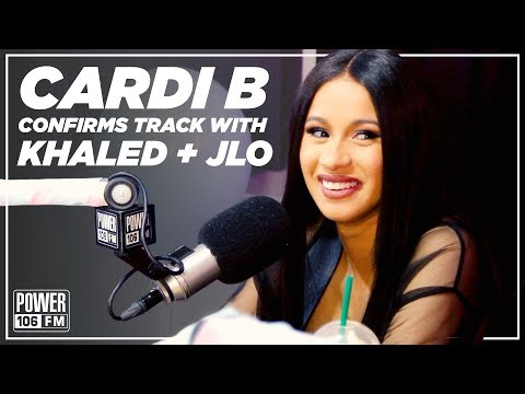 Cardi B Confirms Collab With DJ Khaled and JLO is On The Way Soon!