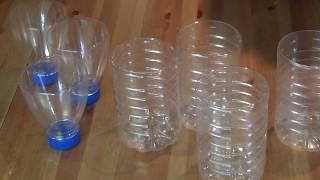 как сделать ровный край среза пластиковой бутылки