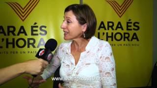 Entrevista con Carme Forcadell - 1ª parte