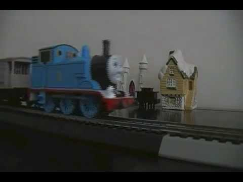 Live action animation and live action model trains Number 3