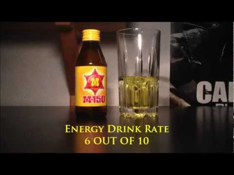M -150 - Energy Drink Review