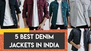Best 5 Men Denim trucker jackets to buy in India